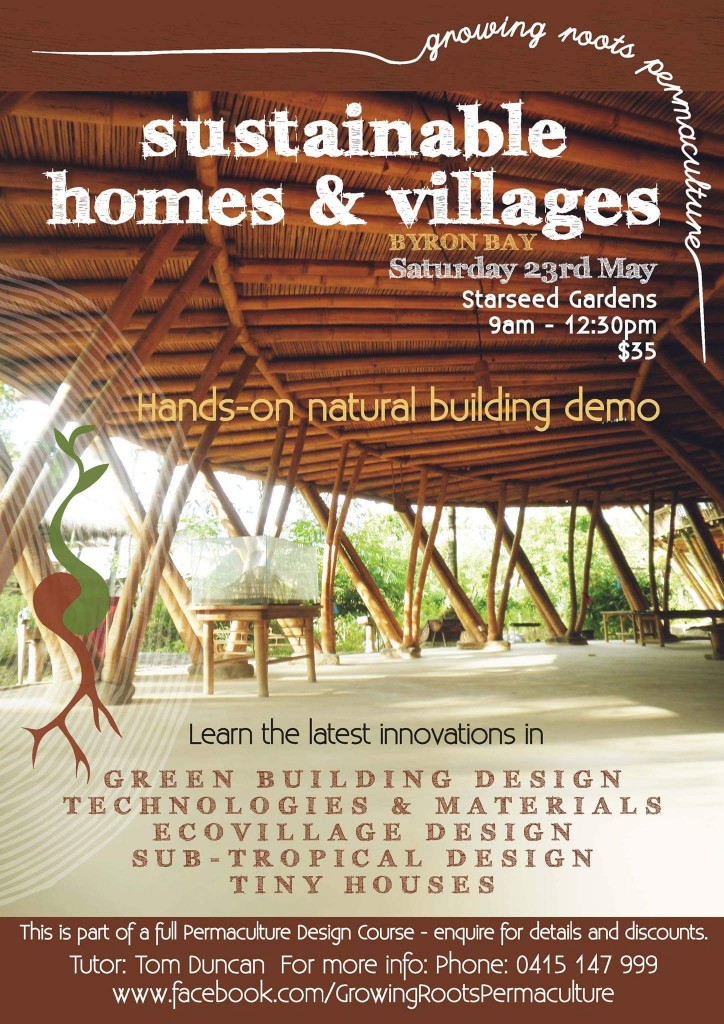 Ecoplan Sustainable Homes and Villages flyer