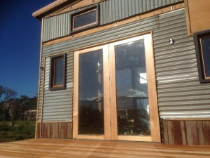 Tiny House Design and Build Photo Sequence by Murray Goodchild